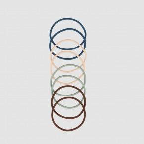 Elastiques fins couleur x28 2