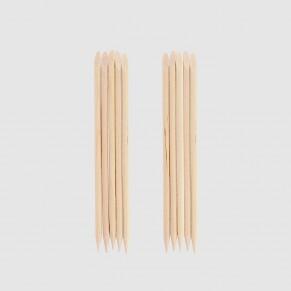 10 batonnets cuticules en bois