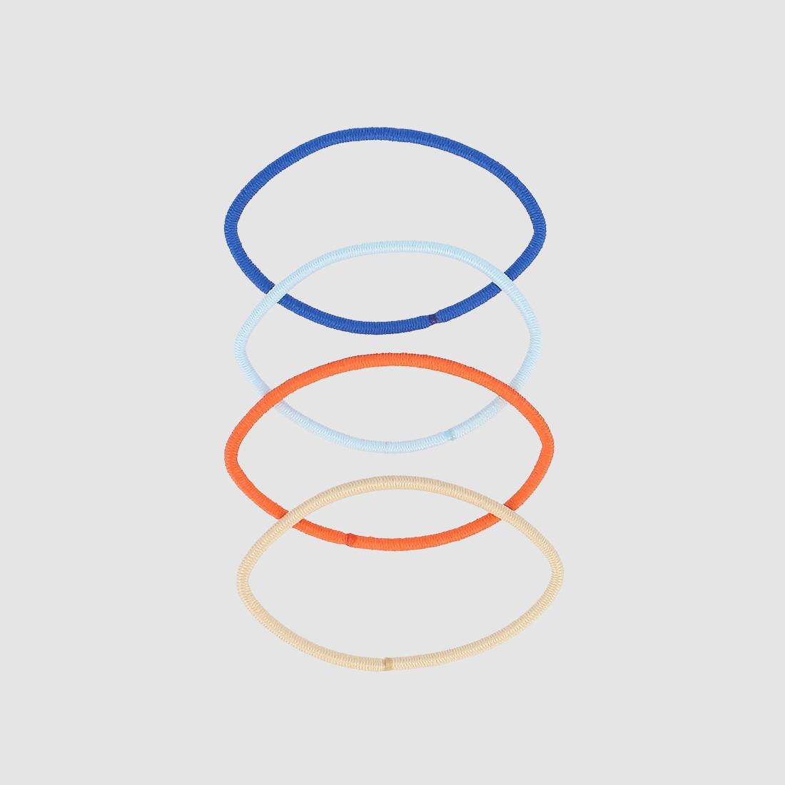 Elastiques fins couleur x28